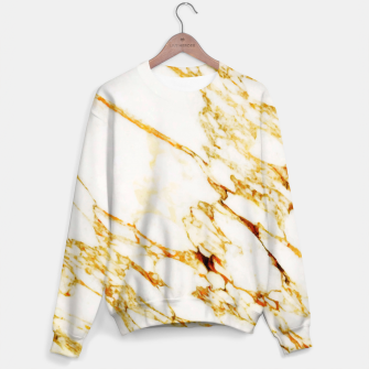 Thumbnail image of Gold Marble Sweater, Live Heroes