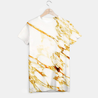 Thumbnail image of Gold Marble T-shirt, Live Heroes