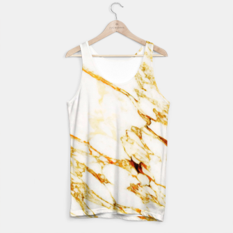 Thumbnail image of Gold Marble Tank Top, Live Heroes