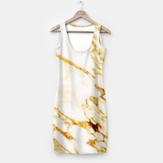 Thumbnail image of Gold Marble Simple Dress, Live Heroes