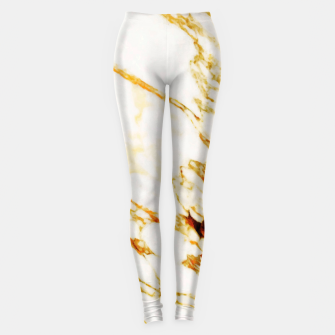 Thumbnail image of Gold Marble Leggings, Live Heroes