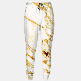 Thumbnail image of Gold Marble Sweatpants, Live Heroes