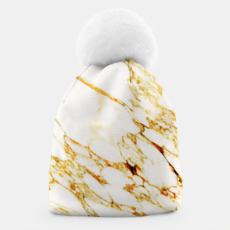 Thumbnail image of Gold Marble Beanie, Live Heroes