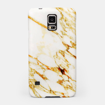 Thumbnail image of Gold Marble Samsung Case, Live Heroes