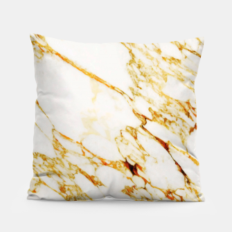 Gold Marble Pillow thumbnail image