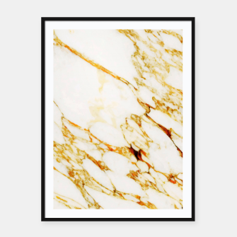 Gold Marble Framed poster thumbnail image