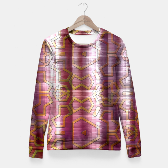 Thumbnail image of Wind Glyphs Fitted Waist Sweater, Live Heroes