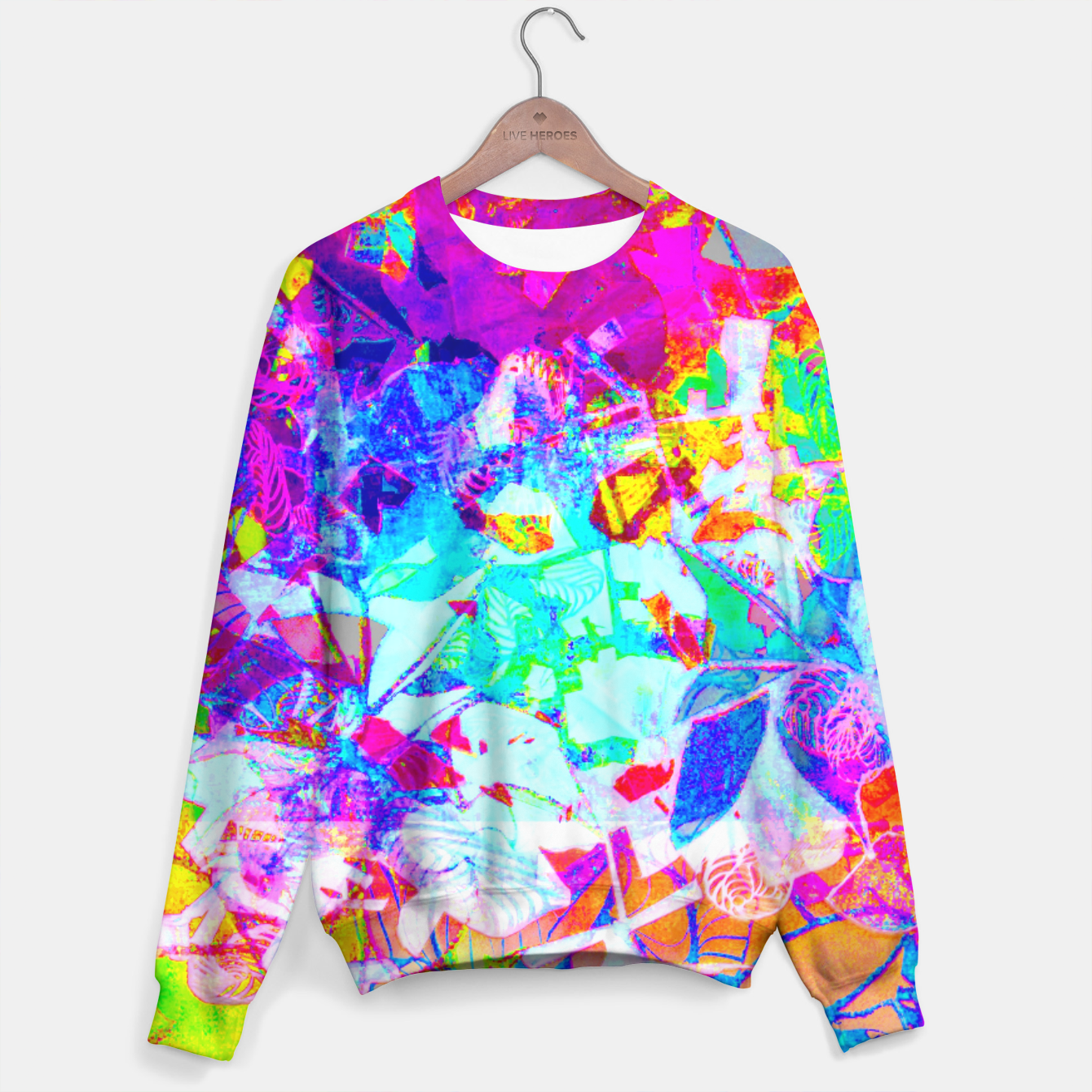 Image of sotm005 Sweater - Live Heroes