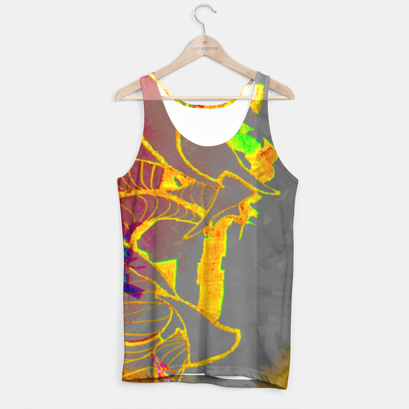 Image of sotm005 Tank Top - Live Heroes