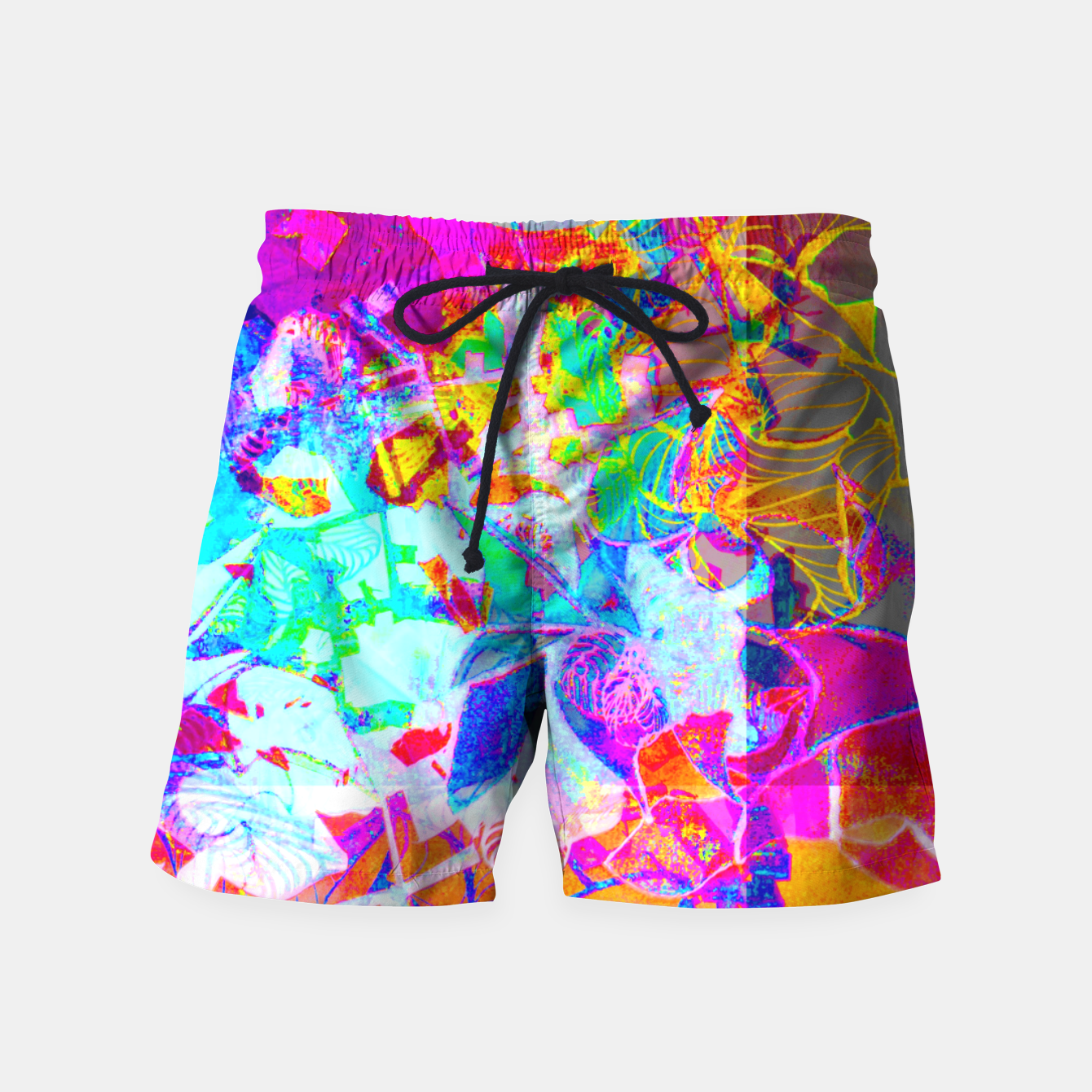Image of sotm005 Swim Shorts - Live Heroes