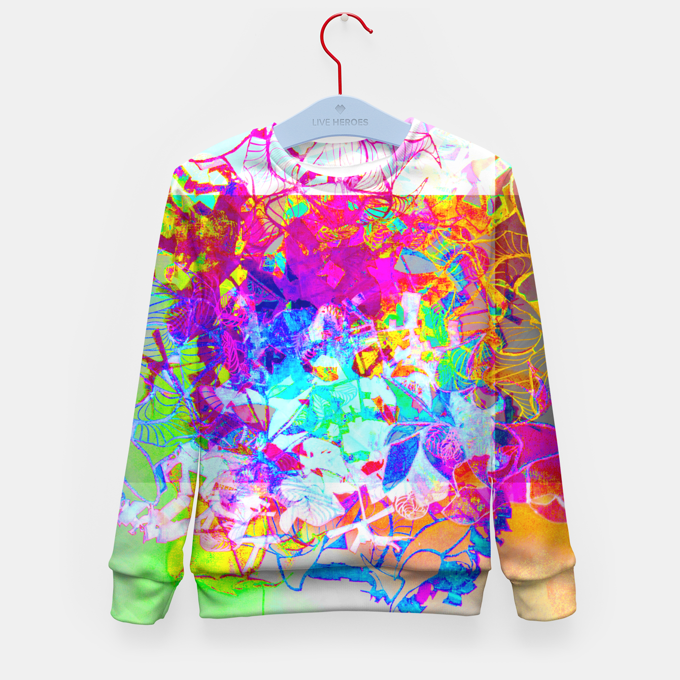 Image of sotm005 Kid's Sweater - Live Heroes