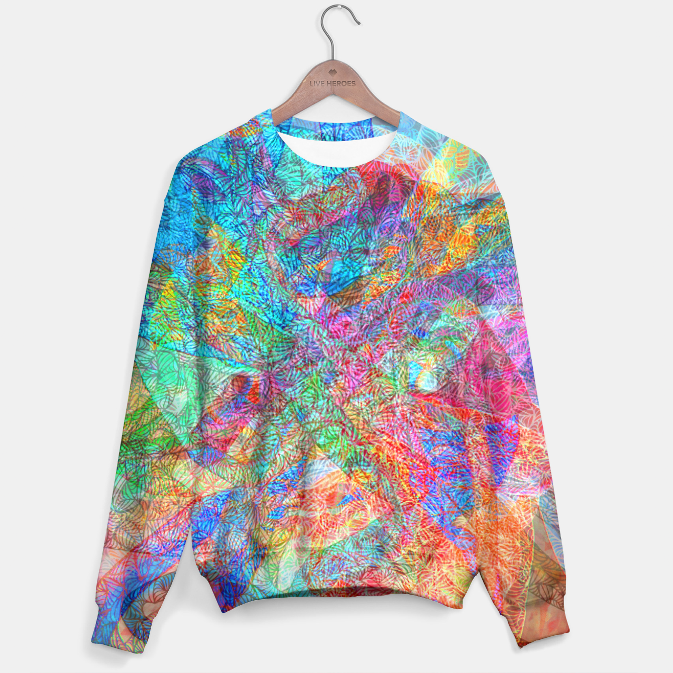 Image of sotm006 Sweater - Live Heroes