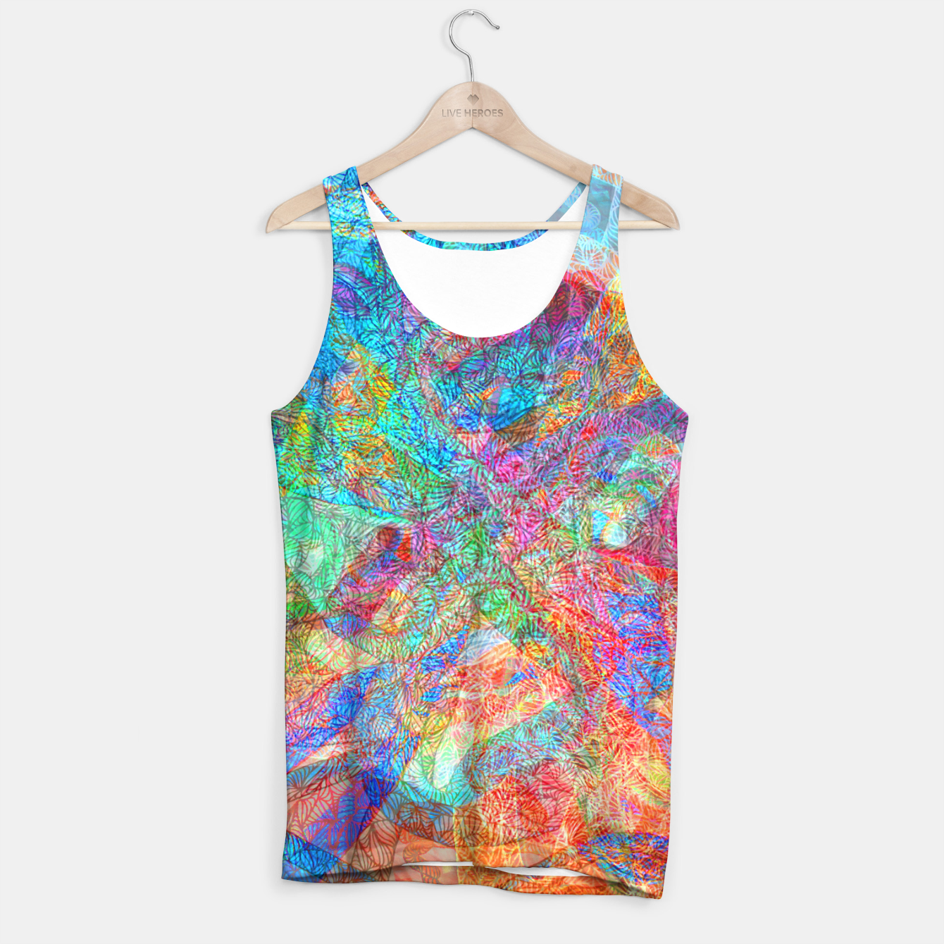 Image of sotm006 Tank Top - Live Heroes