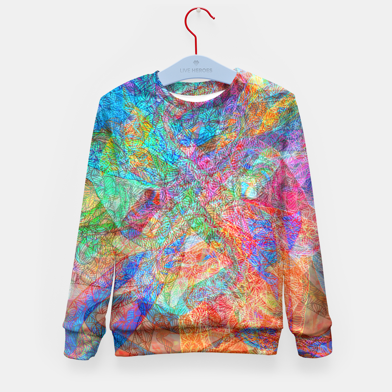 Image of sotm006 Kid's Sweater - Live Heroes
