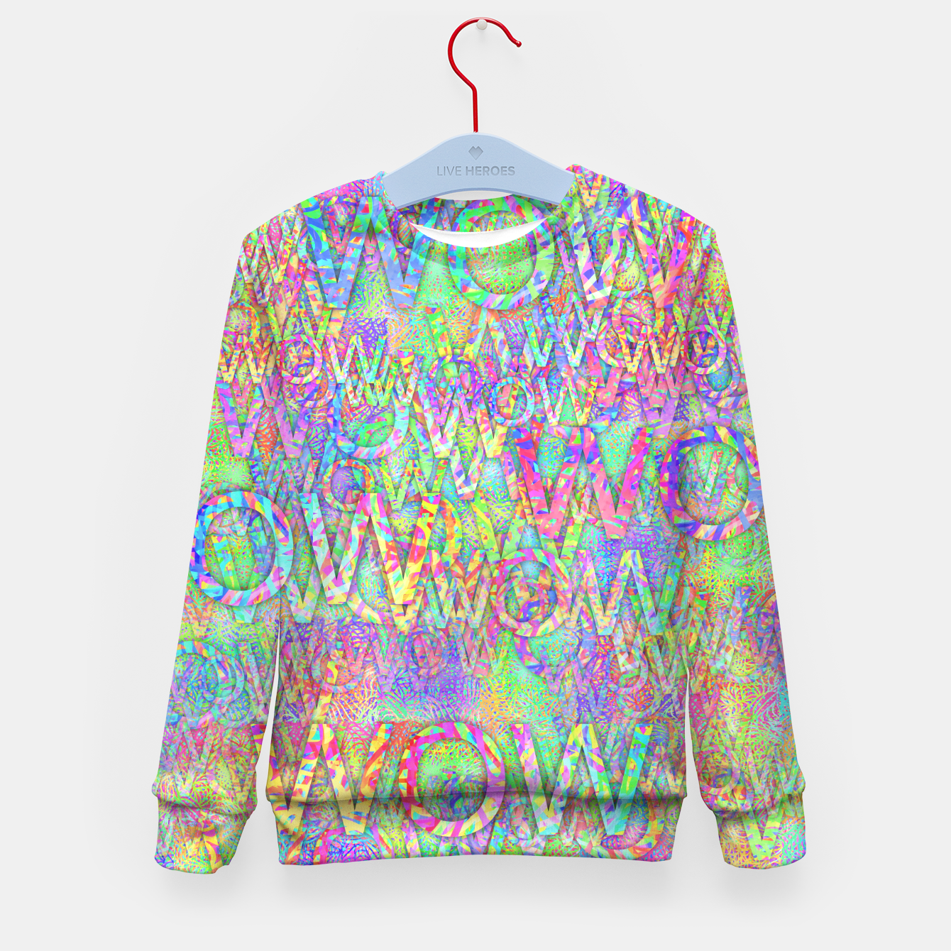 Image of wow Kid's Sweater - Live Heroes