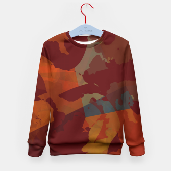 Thumbnail image of Rist and Blue Kid's Sweater, Live Heroes