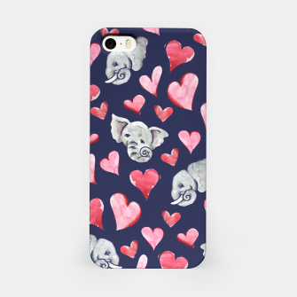 Thumbnail image of Elephant lover iPhone Case, Live Heroes