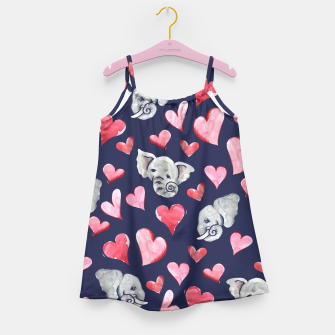 Thumbnail image of Elephant lover Girl's Dress, Live Heroes