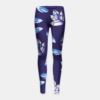 Thumbnail image of Mystic Crystals Witchy Vibes  Girl's Leggings, Live Heroes