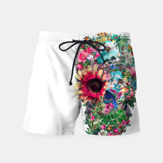 Thumbnail image of Summer Skull II Swim Shorts, Live Heroes