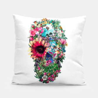 Thumbnail image of Summer Skull II Pillow, Live Heroes