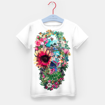 Thumbnail image of Summer Skull II Kid's T-shirt, Live Heroes