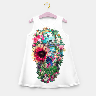 Thumbnail image of Summer Skull II Girl's Summer Dress, Live Heroes
