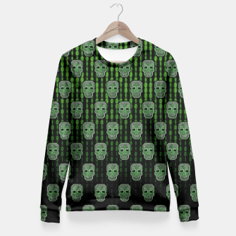 Thumbnail image of Homo Hacker (pattern version) Sudadera entallada, Live Heroes