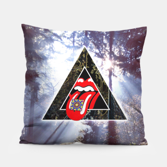 Thumbnail image of LSD IN NATURE Pillow, Live Heroes