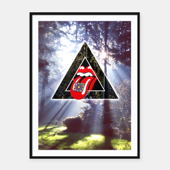 Thumbnail image of LSD IN NATURE Framed poster, Live Heroes