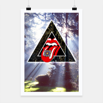 Thumbnail image of LSD IN NATURE Poster, Live Heroes