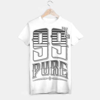 Thumbnail image of 99% Pure T-shirt, Live Heroes