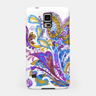 Thumbnail image of Paisley flower hand drawing illustration Samsung Case, Live Heroes