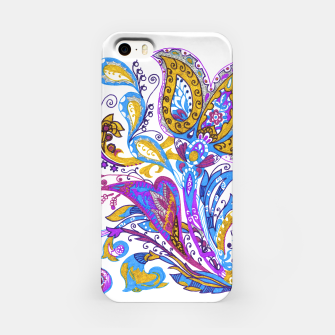 Thumbnail image of Paisley flower hand drawing illustration iPhone Case, Live Heroes