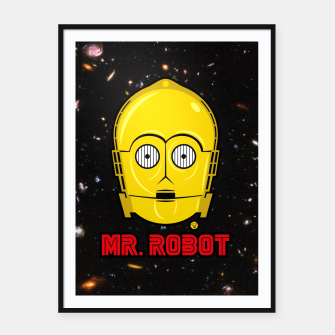 Thumbnail image of Mr Robot Plakaty w ramie , Live Heroes