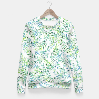 Thumbnail image of Watercolor Freshness Fitted Waist Sweater, Live Heroes