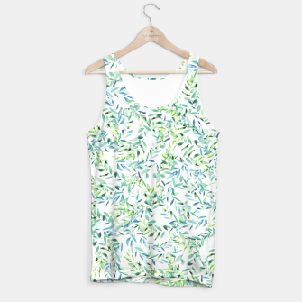 Thumbnail image of Watercolor Freshness Tank Top, Live Heroes