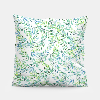 Thumbnail image of Watercolor Freshness Pillow, Live Heroes