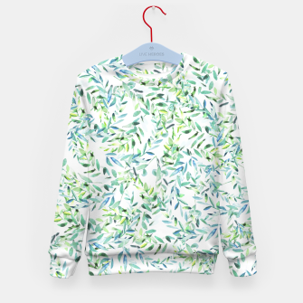 Thumbnail image of Watercolor Freshness Kid's Sweater, Live Heroes