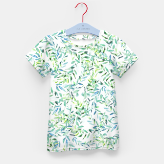 Thumbnail image of Watercolor Freshness Kid's T-shirt, Live Heroes