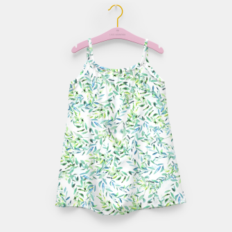 Thumbnail image of Watercolor Freshness Girl's Dress, Live Heroes