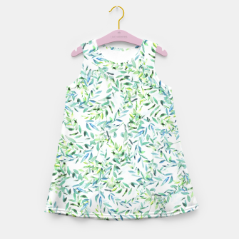 Thumbnail image of Watercolor Freshness Girl's Summer Dress, Live Heroes