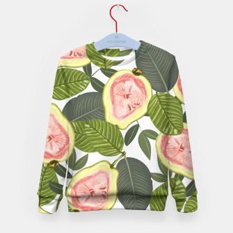 Thumbnail image of Guava Kid's Sweater, Live Heroes