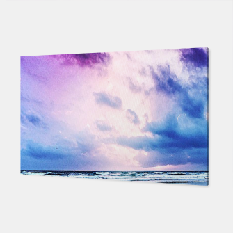 Cloudy shores Canvas thumbnail image