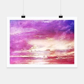 Thumbnail image of Sunset skies Poster, Live Heroes