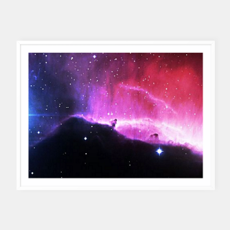 Thumbnail image of Nebulae Framed poster, Live Heroes