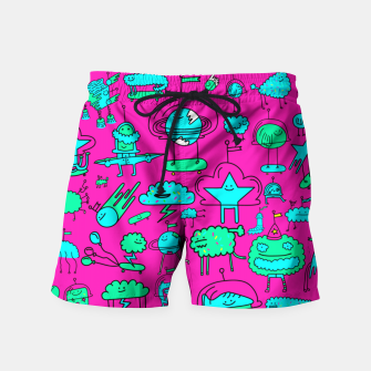 Super Space Party Swim Shorts obraz miniatury