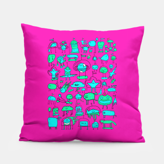 Super Space Party Pillow obraz miniatury