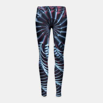 Thumbnail image of The Calling Girl's Leggings, Live Heroes