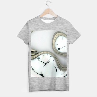 Thumbnail image of Distorted time - surrealist painting T-shirt regular, Live Heroes